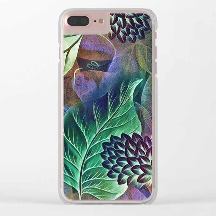 Glorious Nature Clear iPhone Case