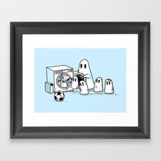 Cleanup Framed Art Print