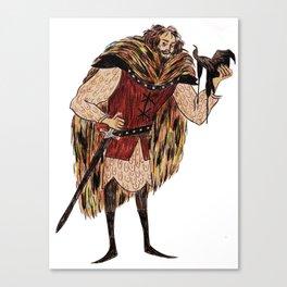 Godric Gryffindor Canvas Print