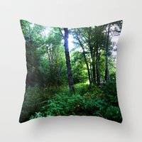 once upon a  time Throw Pillows featuring Once upon a time  by Françoise Reina