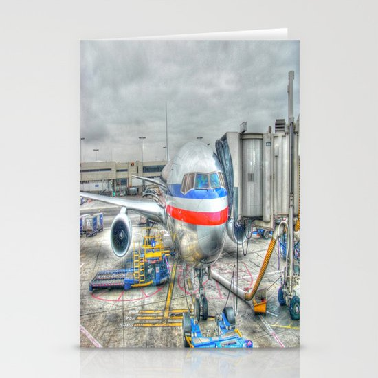 Getting Ready for Takeoff Stationery Cards