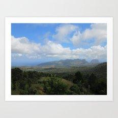 Mauritius view Art Print