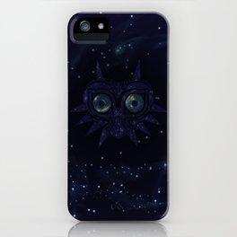 Majora's mask galaxy iPhone Case
