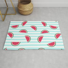 Watermelon pattern Rug