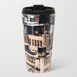 Midtown Water towers Metal Travel Mug