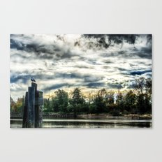 The Slough HDR Canvas Print