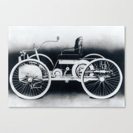 Ford quadricycle Canvas Print