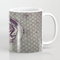 portlandia Mugs featuring portlandia 3.0 by goldcadillac