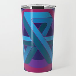 Tri-Tip Mobius Strip Travel Mug