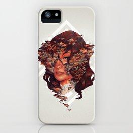 Medusoid mycelium iPhone Case