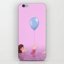 the pink sea iPhone Skin