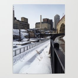 Stone Arch Bridge-Minneapolis, Minnesota Poster