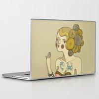 bride Laptop & iPad Skins featuring Sea Bride by Lilla Bölecz