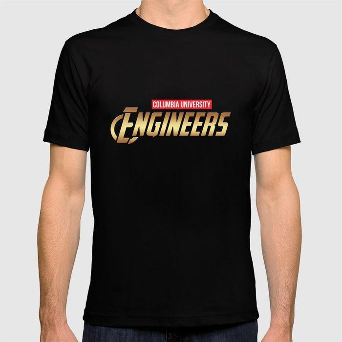 d7dba2cb32b Columbia University engineers T-shirt by indicap | Society6