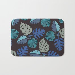 Blue Frond Bath Mat