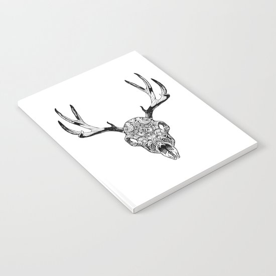 Deer Skull Notebook