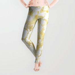 Marble gold Leggings