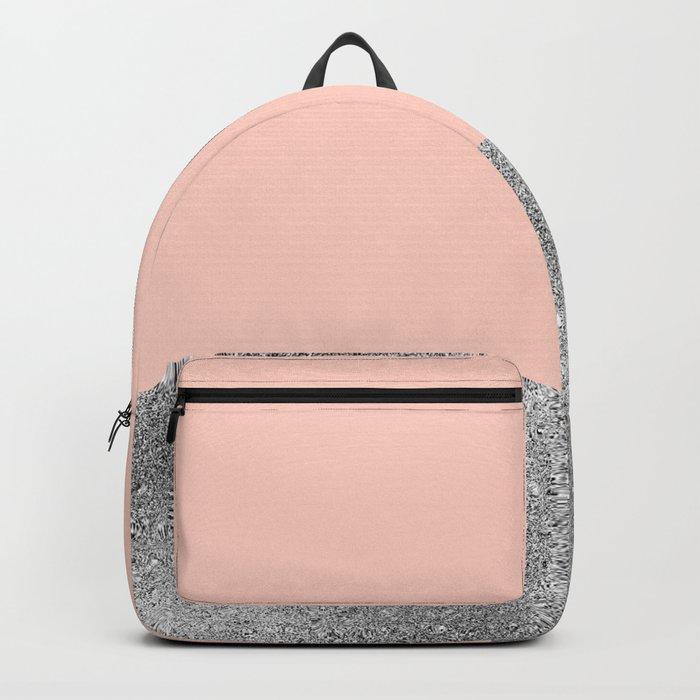 Peach like a diamond Backpack