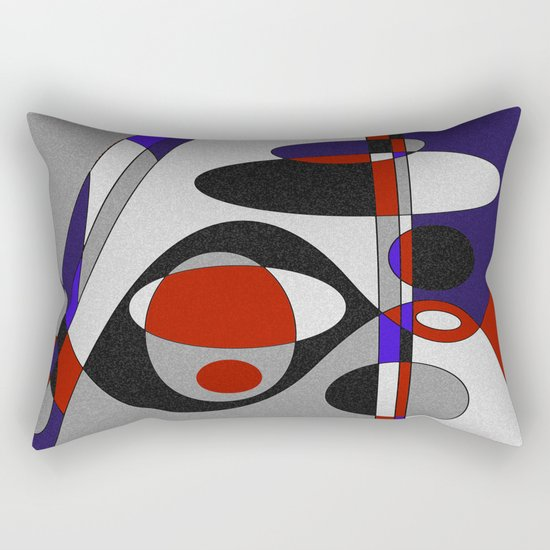 Abstract #93 Rectangular Pillow