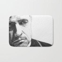Don Vito Corleone Bath Mat