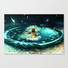 GEMINI from the Dancing Zodiac Canvas Print