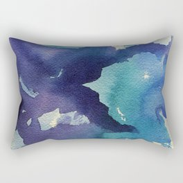I dream in watercolor B Rectangular Pillow