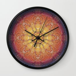 Warmth Wall Clock