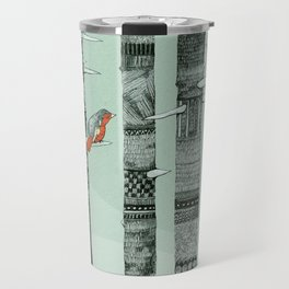 January Birds Travel Mug