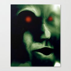 The Green Visitor Canvas Print
