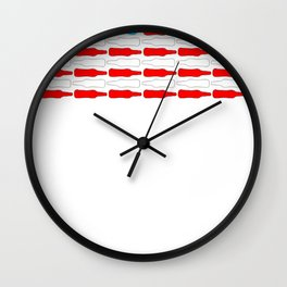UNITED DRINKS OF AMERICA T-SHIRT Wall Clock