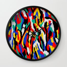 BAUHAUS CAMOUFLAGE Wall Clock