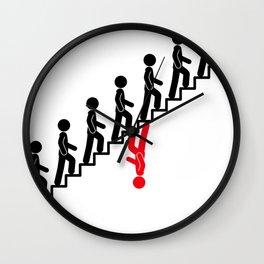 Contrarian Wall Clock