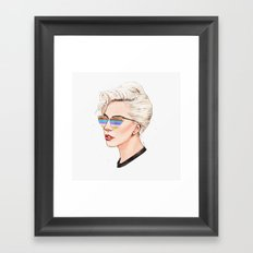 Perfect Illusion Framed Art Print