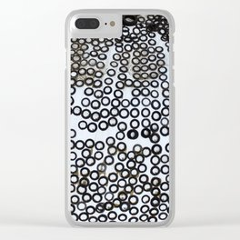 Snow Tires Clear iPhone Case
