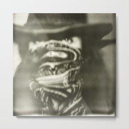 Bandit Metal Print