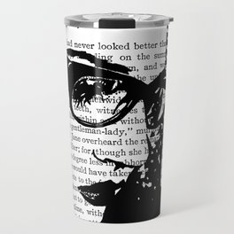 That Look of Falling to Pieces Travel Mug