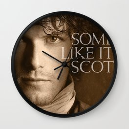 Jamie Fraser Outlander Wall Clock