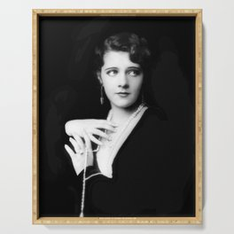 Ruby Keeler by Alfred Cheney Johnston Serving Tray