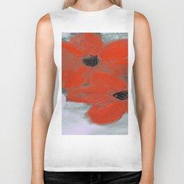 Poppies Biker Tank