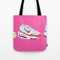nike Tote Bags featuring Nike Air by caseysplace