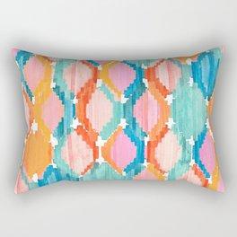 marmalade balinese ikat Rectangular Pillow