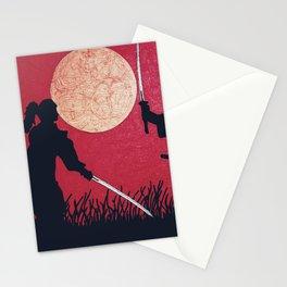 Samurai showdown Stationery Cards