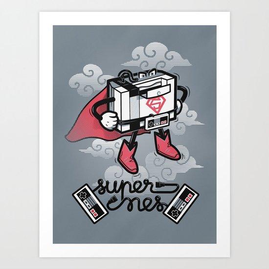 Supernes Art Print