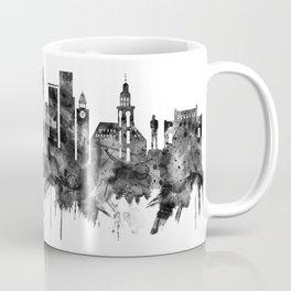 Hamburg Germany Skyline BW Coffee Mug