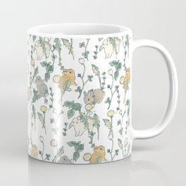 Spring Garden -white Coffee Mug