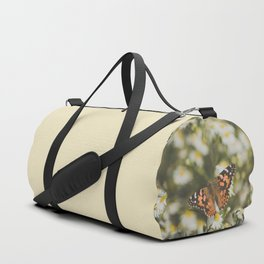 butterfly in meadow Duffle Bag