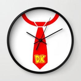 DK Tie Wall Clock