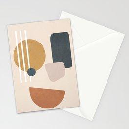 Minimal Abstract Shapes No.58 Stationery Cards