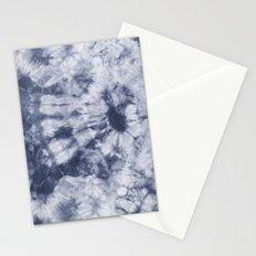 Tie Dye 3 Navy Stationery Cards