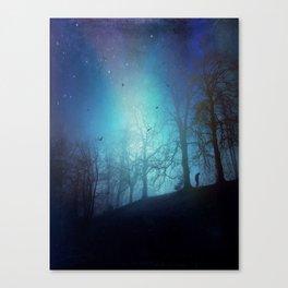 Bluer than Midnight Canvas Print